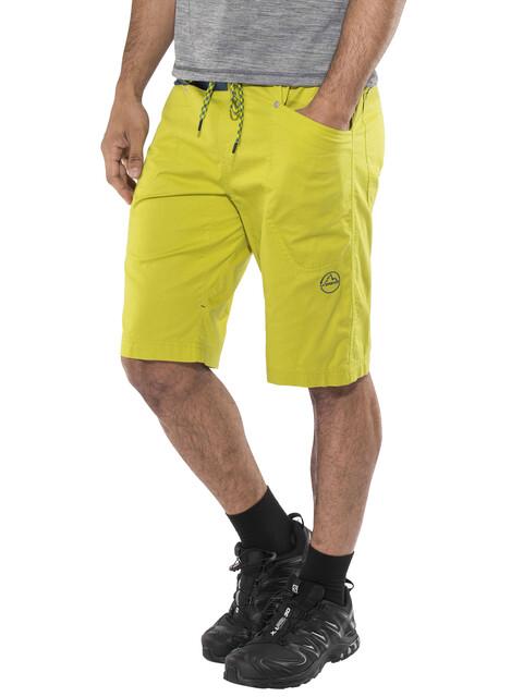 La Sportiva Bleauser Shorts Men Citronelle/Ocean
